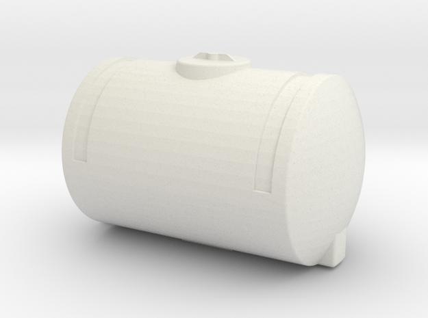 1/64 Scale 110 Gallon Tank in White Natural Versatile Plastic