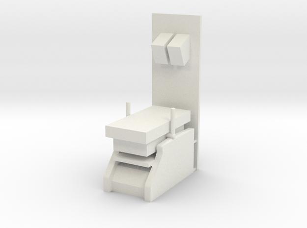 Sickbay Running Table (Star Trek Classic), 1/18 in White Natural Versatile Plastic