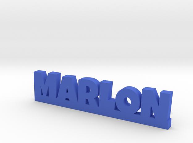MARLON Lucky in Blue Processed Versatile Plastic