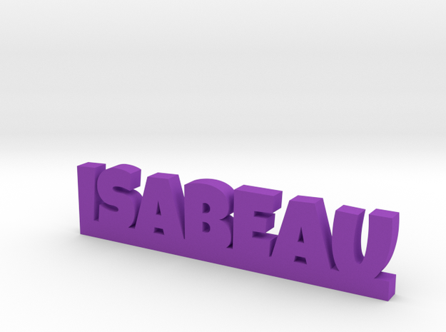 ISABEAU Lucky in Purple Processed Versatile Plastic