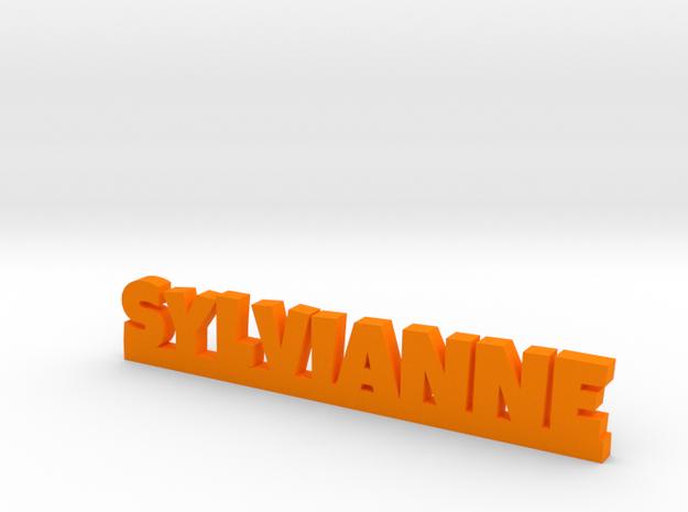 SYLVIANNE Lucky in Orange Processed Versatile Plastic