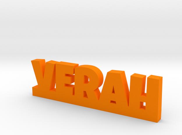 VERAH Lucky in Orange Processed Versatile Plastic