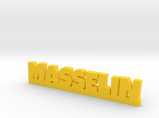MASSELIN Lucky in Yellow Processed Versatile Plastic