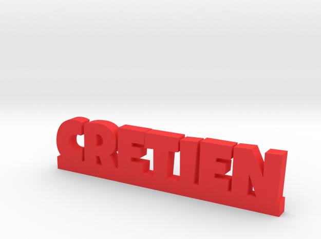 CRETIEN Lucky in Red Processed Versatile Plastic