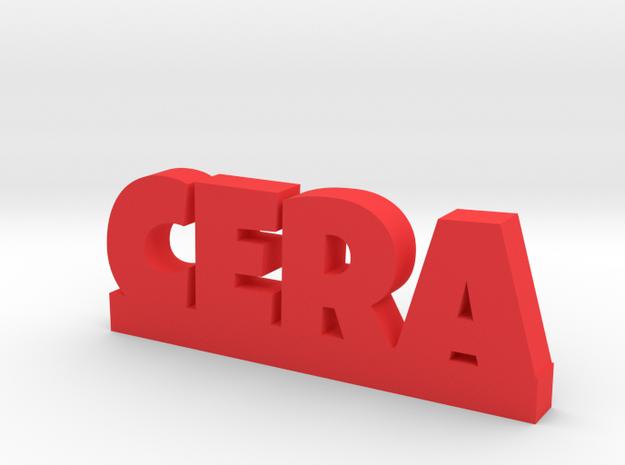 CERA Lucky in Red Processed Versatile Plastic