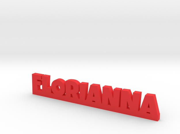FLORIANNA Lucky in Red Processed Versatile Plastic