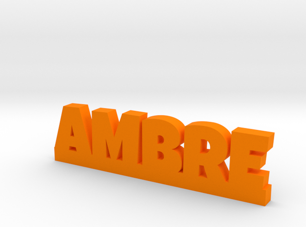 AMBRE Lucky in Orange Processed Versatile Plastic