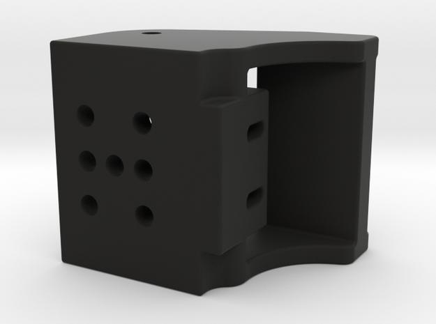 "Shifter Paddle Block 1/2"" Magnets in Black Natural Versatile Plastic"
