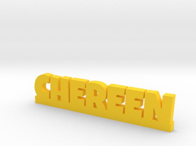 CHEREEN Lucky in Yellow Processed Versatile Plastic