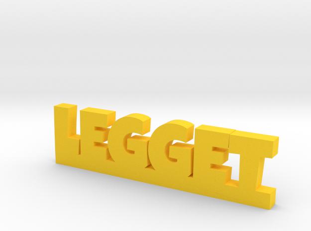 LEGGET Lucky in Yellow Processed Versatile Plastic