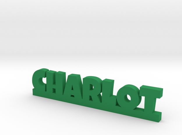 CHARLOT Lucky in Green Processed Versatile Plastic