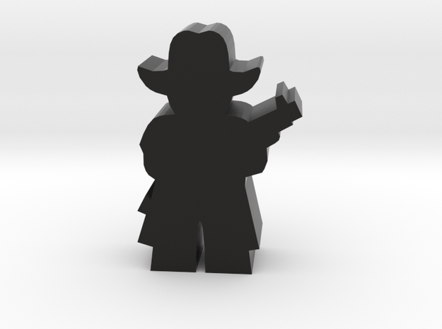 Game Piece, Cowboy, Coat Standing Rifle