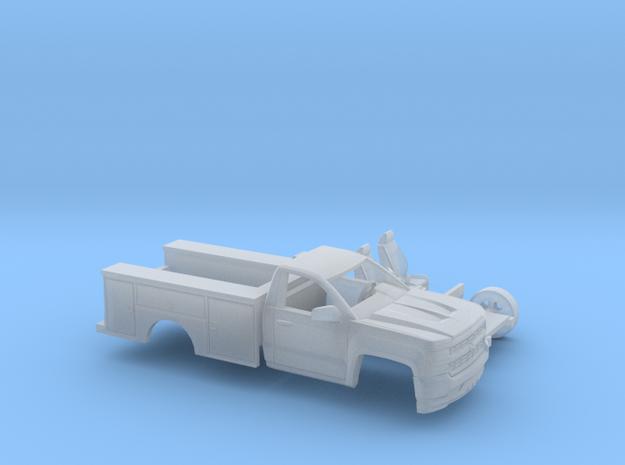 1/160 2016/17 Silverado Single/Utility Kit in Frosted Ultra Detail