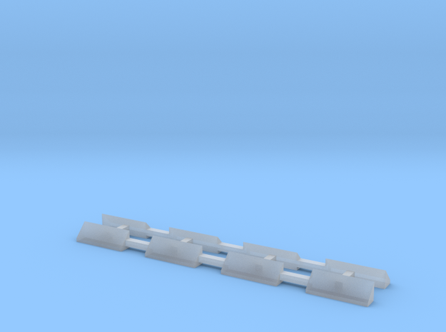 N Scale Caboose Window Shades