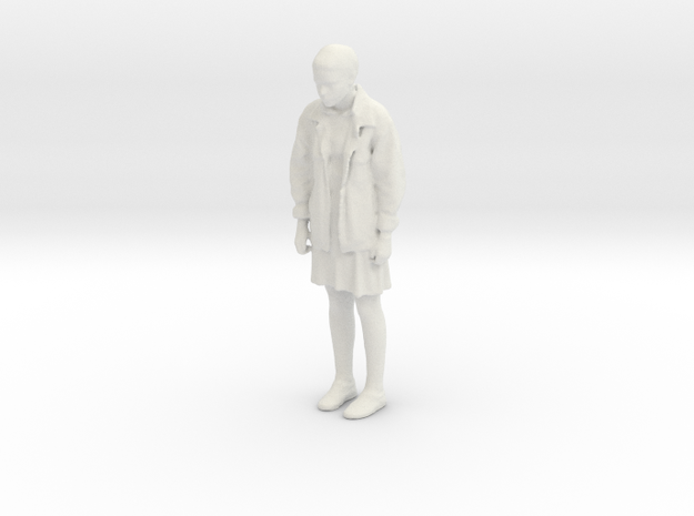 Printle C Femme 439 - 1/24 - wob in White Natural Versatile Plastic