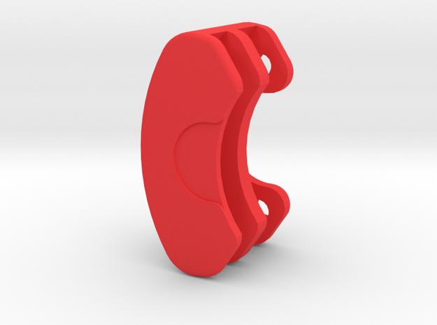 TerraMod 183 Rear Brake Caliper 1.9 in Red Processed Versatile Plastic