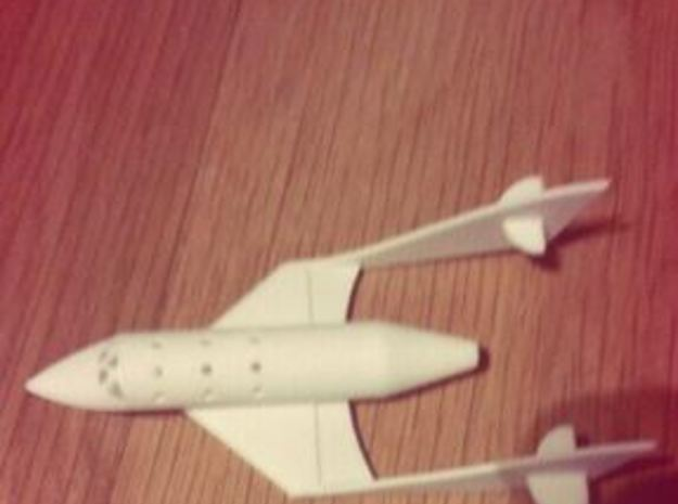 Space Ship Two  3d printed Printed model