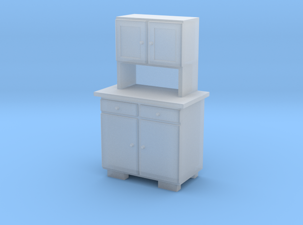 TT Cupboard 2 Doors A - 1:120 in Smooth Fine Detail Plastic