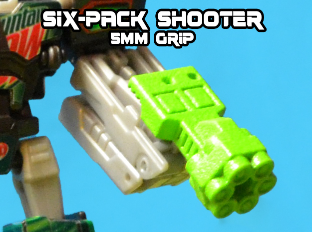 6-Pack Shooter, 5mm