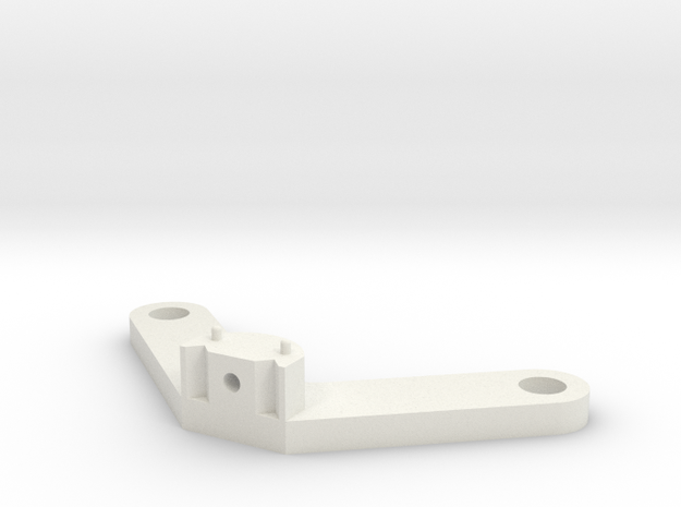 Groove-pulley-truss-b in White Natural Versatile Plastic