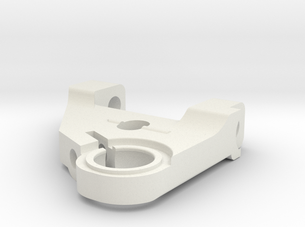 KMD-FR01 Right Lower Arm in White Natural Versatile Plastic