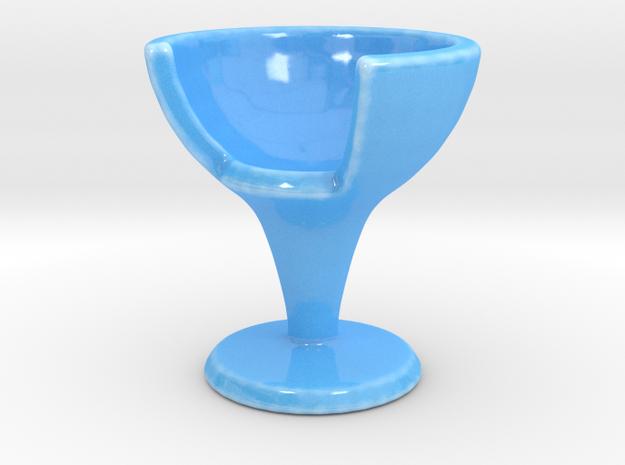 EGGCHAIR in Gloss Blue Porcelain