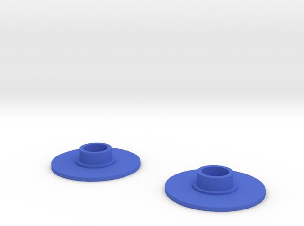 Fidget spinner cap (608RS) in Blue Processed Versatile Plastic
