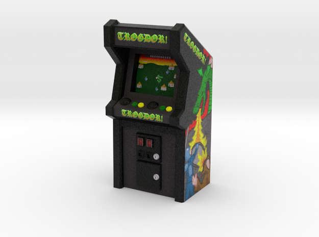 Trogdor Arcade Game, 35mm Scale