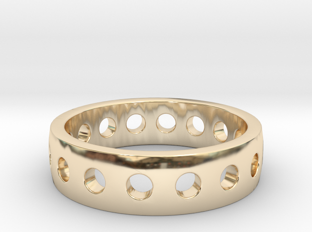 "Ring ""King"" in 14K Gold: 6 / 51.5"