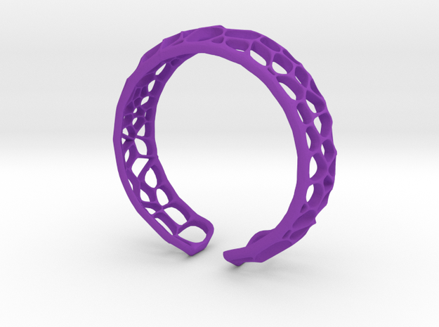 CoralCuff in Purple Processed Versatile Plastic