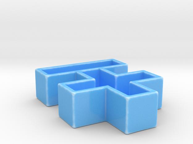 +-. +SWEET -SALTY in Gloss Blue Porcelain