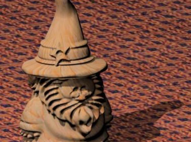 Wizard (SM-$6) 3d printed Rendered detail in max.