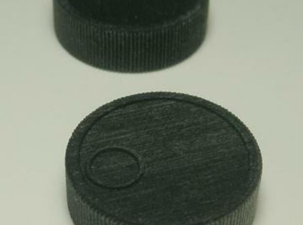 """Arkanoid Spinner 1/8"""" 3d printed Black detail"""