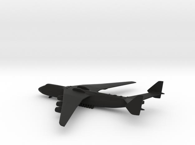 Antonov An-225 Mriya in Black Natural Versatile Plastic: 1:700