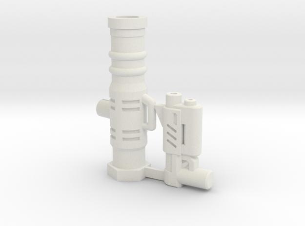 Wrestling Killer Z Weapon Set in White Natural Versatile Plastic
