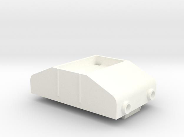 Gnomy E-Lok, 1x body in White Strong & Flexible Polished