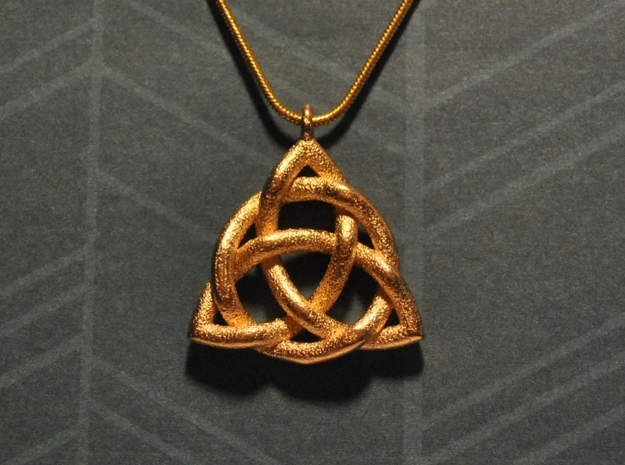 Triquetra Pendant or Trinity Knot Pendant