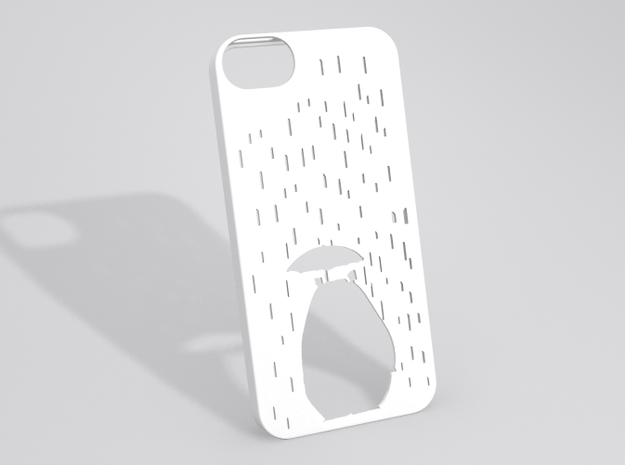 Totoro iPhone 5 case (Fixed!) 3d printed Sample render