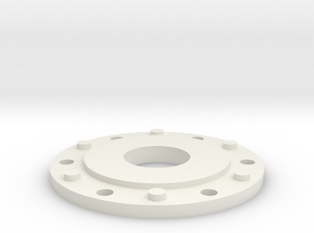 JConcepts Tribute Planetary Hub Detail With Hole