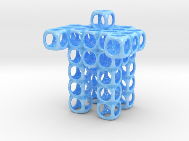 CUBOT ORGANIZER in Gloss Blue Porcelain