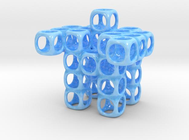 CUBOT Little ORGANIZER in Gloss Blue Porcelain