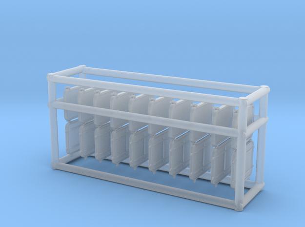 1/96 DKM Port Rectangle V6 Set in Smooth Fine Detail Plastic