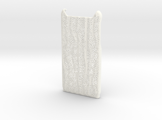 iPhone 6 case in White Strong & Flexible Polished