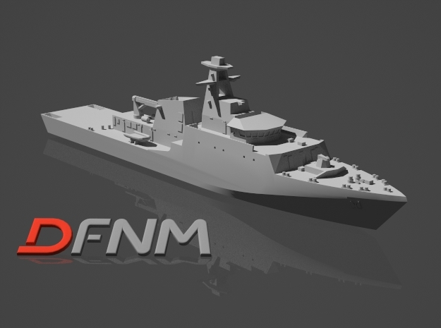 River Class OPV Batch 2 in White Strong & Flexible: 1:700