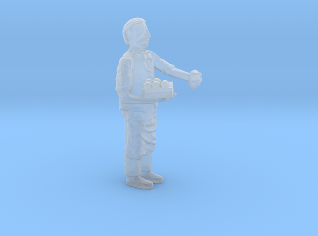 O ShopKeeper stocking shelving Figure in Smooth Fine Detail Plastic