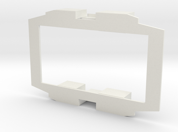 B-1-48-simplex-baseplate in White Strong & Flexible