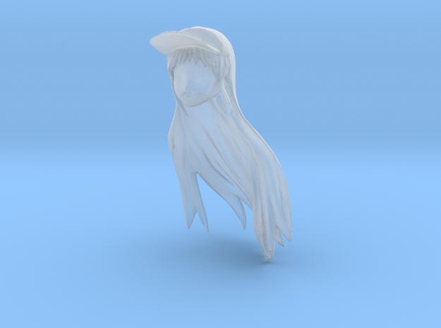 1/24 Race Queen Head Sculpt in Smooth Fine Detail Plastic