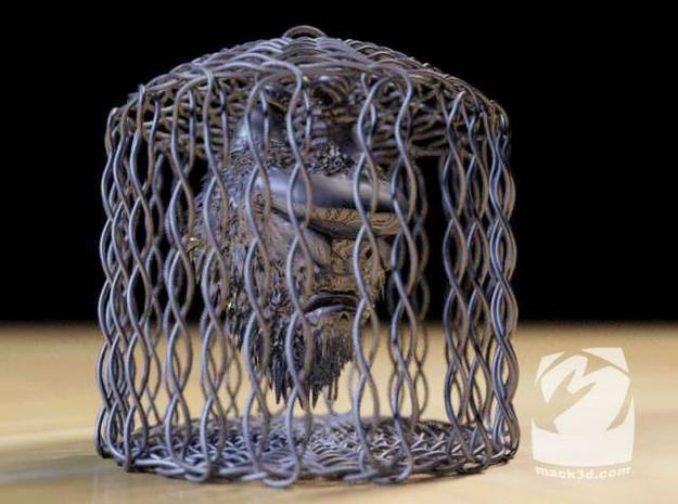 Caged Hairy Mongrel 3d printed Description