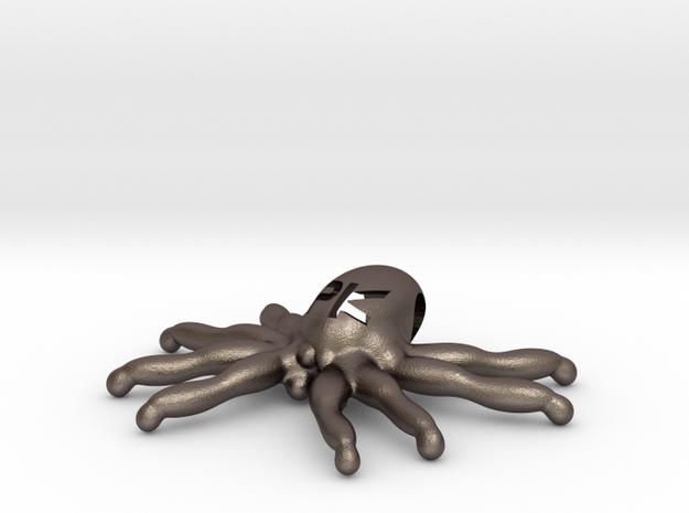 """The Parallelkeller """"Spider-Kraken"""" pendant (larger in Stainless Steel"""