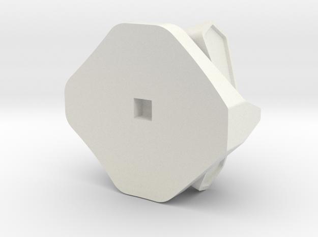 B-Bot-Head in White Strong & Flexible